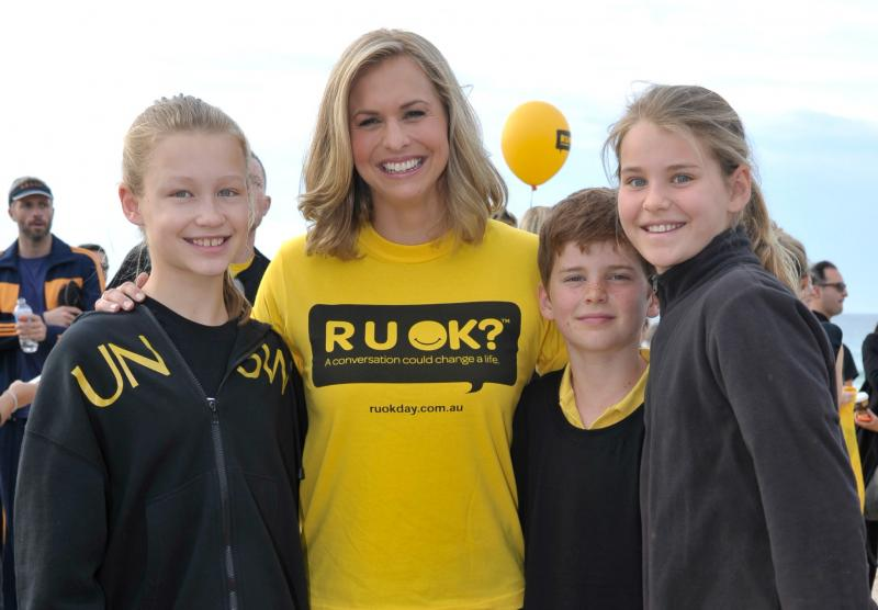 Libby Trickett joins the swim
